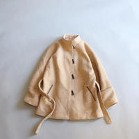 FRANCE VINTAGE SHAGGY WOOL COAT