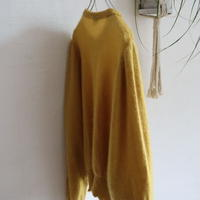 OLD COLLARLESS MOHAIR CARDIGAN MADE IN W.GERMANY