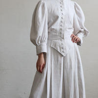 FRANCE ANTIQUE LINEN DRESS