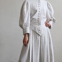 FRANCE ANTIQUE LINEN DRESS
