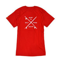 Board cross t-shirts