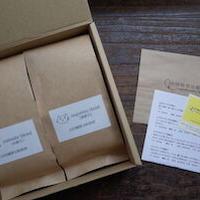 珈琲豆(粉)200gx2種類 ギフトボックス