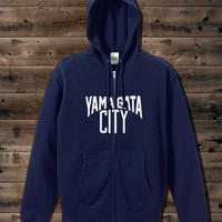 YAMAGATA CITY Sweat Fullzip Parka_Nvy