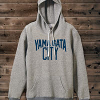 YAMAGATA CITY Sweat Pullover Parka-vintageheather