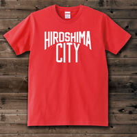 HIROSHIMA CITY T-shirt Red
