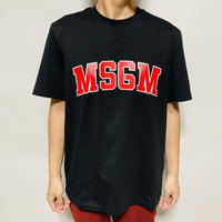 MSGMロゴプリントTシャツ