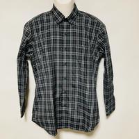 【在庫問い合わせ商品】ボタンダウンシャツ(ブラックチェック)