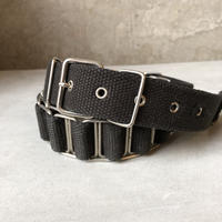 HELMUTLANG Military Belt Black