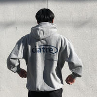 ciatre back logo swt hoodie GRY