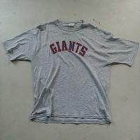 80s~ Mac Gregor Sand Knit GIANTS S/S Tee