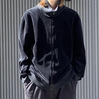 A.P.C Velor jacket BLK
