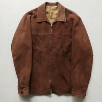 40s Henri Nubuck Leather Jacket