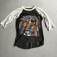 80s THE WHO S/S Raglan Tee