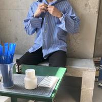 Calvin Klein L/S Stripe Dress Shirt