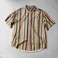 90s ROUNDTREE & YORKE Stripe S/S Shirt