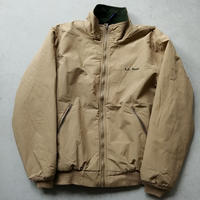 80s~ L.L.Bean Fleece Shell Jacket BEG