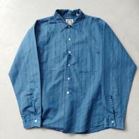 60s~ V.I.P knitmaker L/S Stripe Shirt