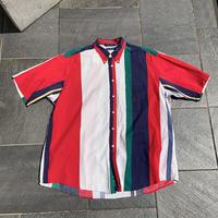90s nautica multi str shirt