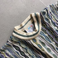 COOGI 3D Cotton Knit Sweater