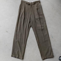 FENDI Tuck Slacks Pants