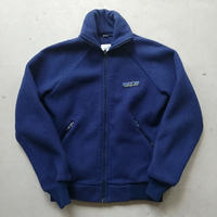 80s Patagonia Zip Up Pile Jacket BLU