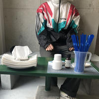 ~90s adidas Nylon Zip-Up Blouson