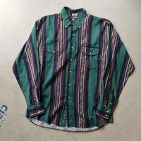 ~90s Roper Stripe L/S Shirt