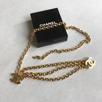 -90s CHANEL Gold Chain Belt