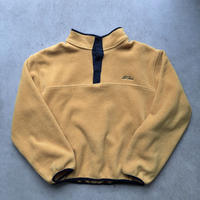 L.L.Bean Fleece Pullover Jacket YEL