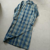 90s L.L.Bean Check Shirt One Piece