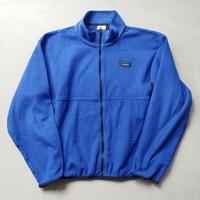 90s L.L.Bean Fleece Jacket BLU