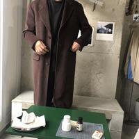 agnes.b Wool Chester Coat BRN