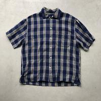 90s FILA SPORT S/S Check Shirt