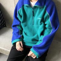 L.L.Bean Fleece Pullover Jacket TRQ
