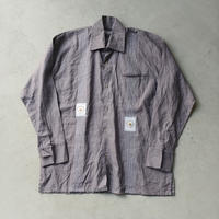 Old Linen Dress Guatemala Shirt L/S