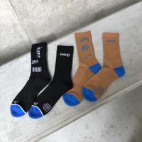 ciatre sox 2 pairs BLK/BRN