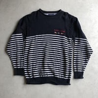 90s TOMMY HILFIGER Border Cotton Knit