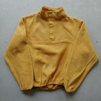 ~90s L.L.Bean Fleece Pullover YLW