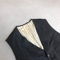 Y's for men Stripe Gilet