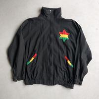 ~90s Raster Color Cotton Blouson