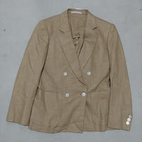Burberrys Linen Double Tailored Jacket