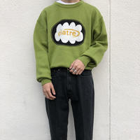ciatre cloud logo knit GRN