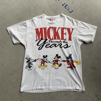 90s Disney Through the years tee WHT