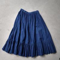 80s~ H BAR C Denim Skirt