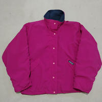 90s Patagonia Nylon Shell Fleece Jacket PNK