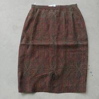 Old Burberrys Paisley Skirt