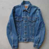 90s Levi's 70505-0217 Denim Track Jacket