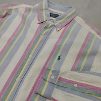 Polo by Ralph Lauren L/S Multi Color Stripe Shirt