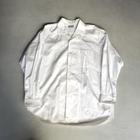 90s COMME des GARCONS HOMME Open Collar Shirt White