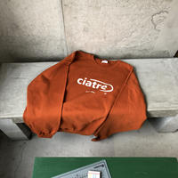 ciatre front logo sweat OR